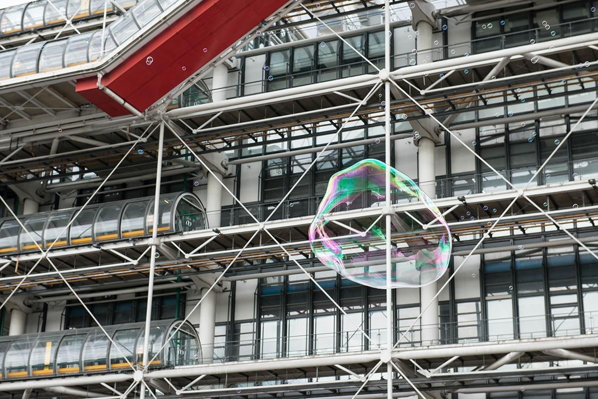 Pompidou Bubble