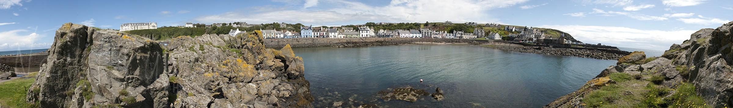 Port Patrick Panorama