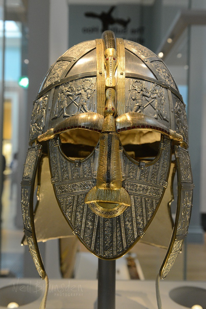 Sutton Hoo Helmet - Modern Reconstruction