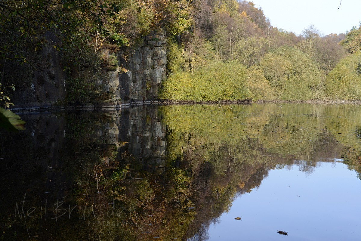 Jumbles Reservoir Reflection
