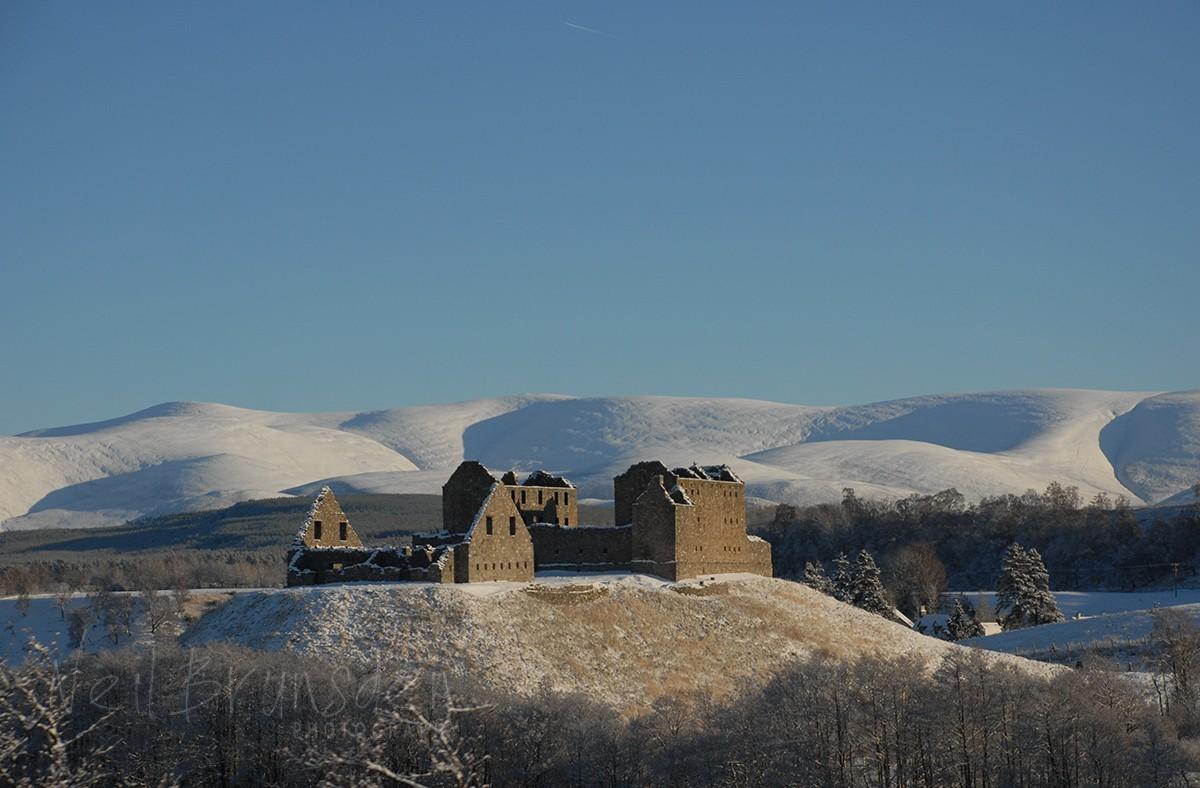 Snowy Ruthven Barracks