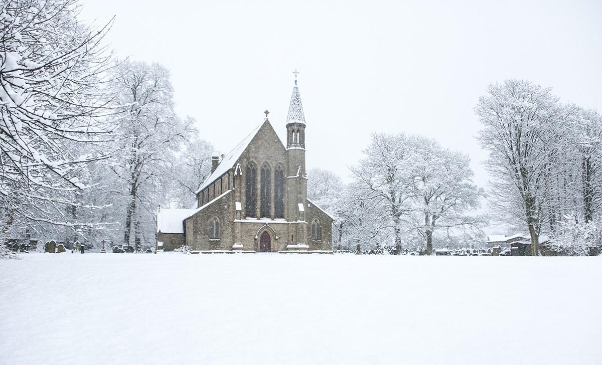 St Saviours Church, Ringley 1