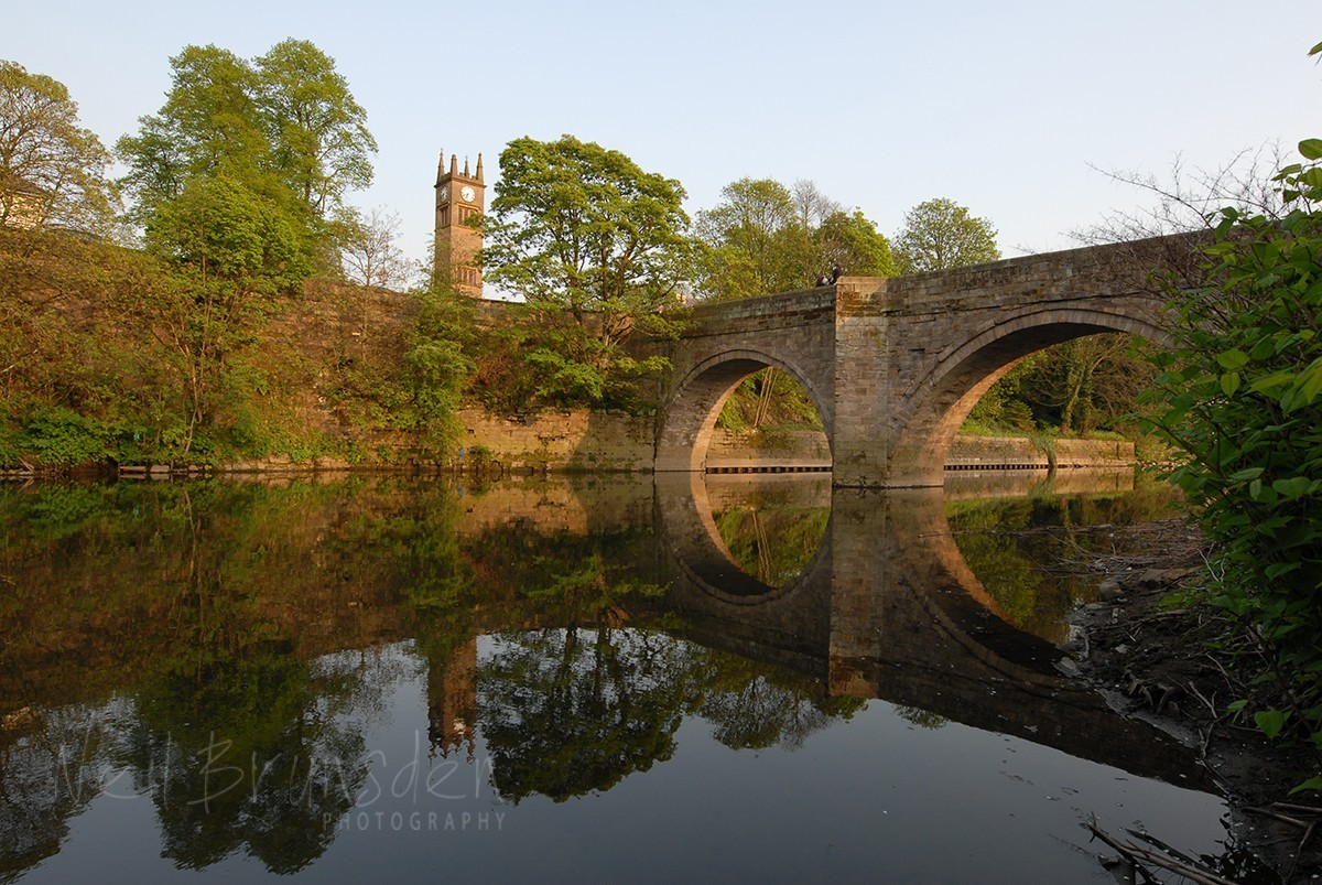 Ringley, Ancient Bridge and Clock Tower