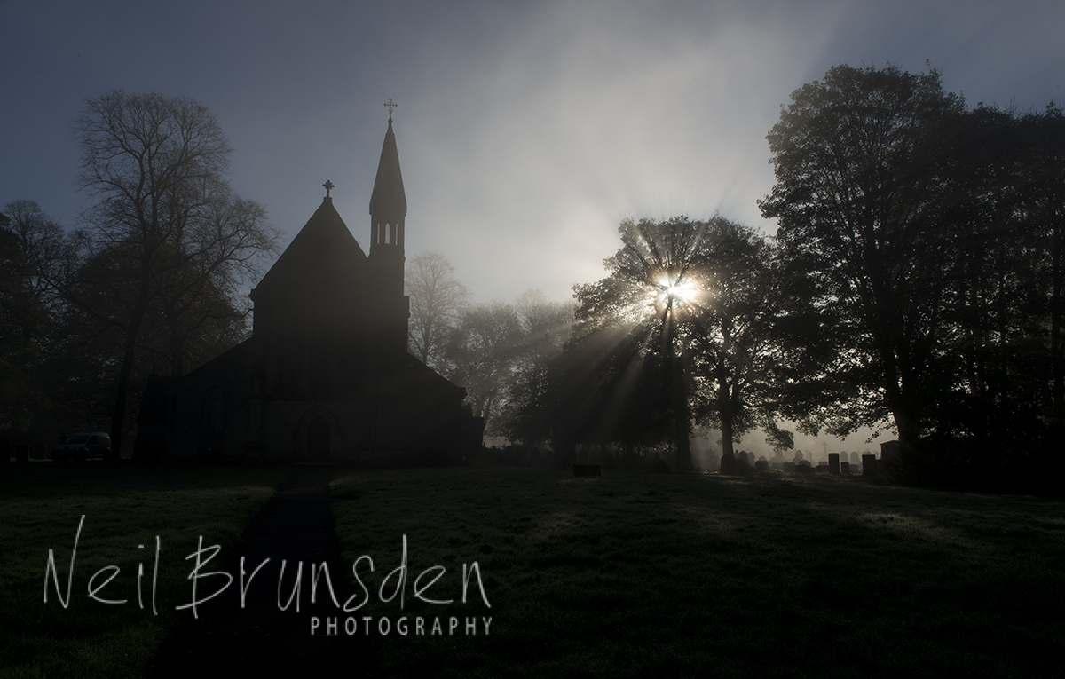 Autumnal Church Yard