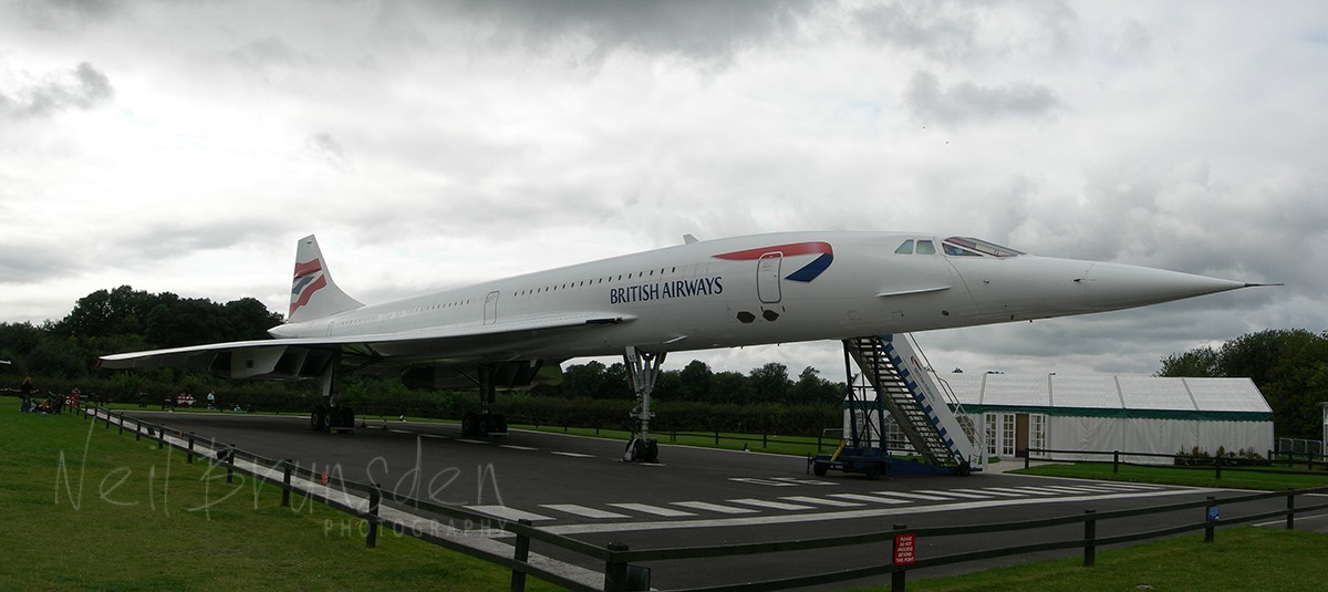 Concorde Alpha Charlie