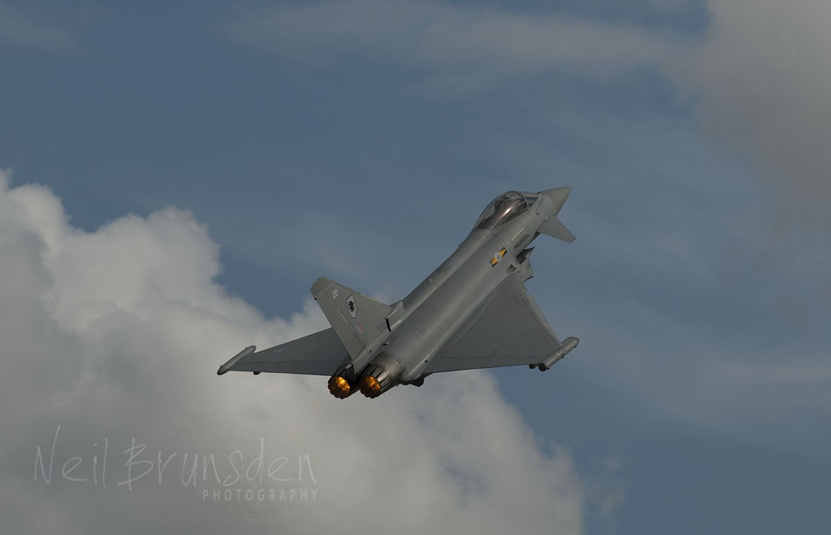 Typhoon Takes to the Air