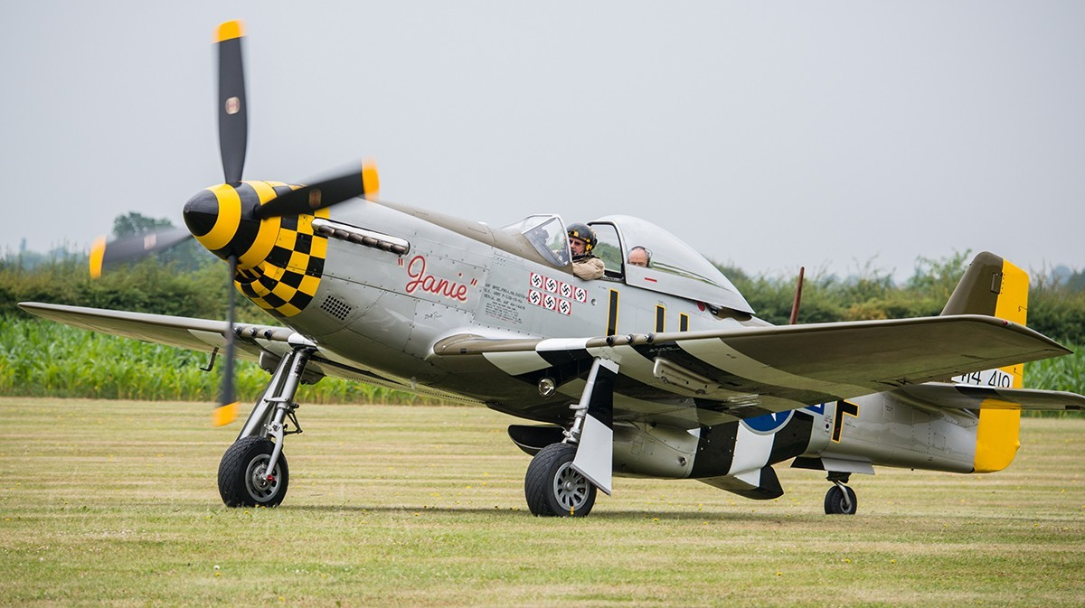 """Janie"" 414419 North American P-51D Mustang"