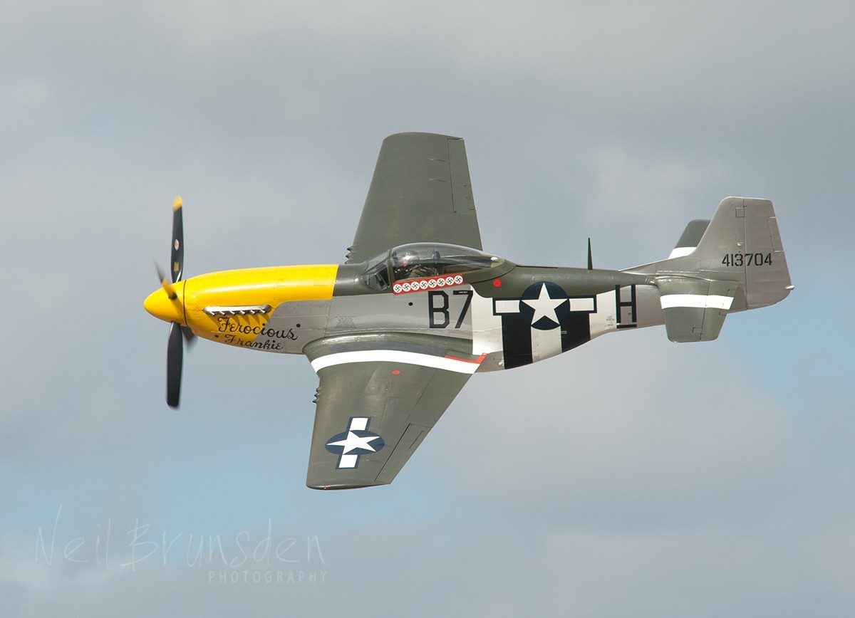 """Ferocious Frankie"" 413704 North American P-51D Mustang"